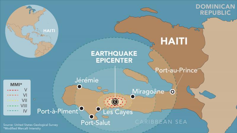 Haiti: Mga pangunahing pagsusuri at mga unang pakikisangkot matapos ang lindol