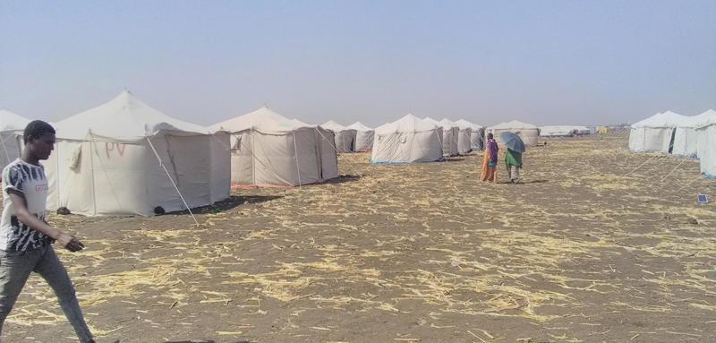 Sudan: Memetakan pengungsi di peta