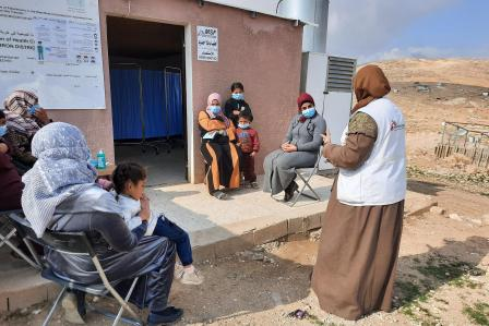 Palestine: 'For one year no one came here. It was a very difficult situation'