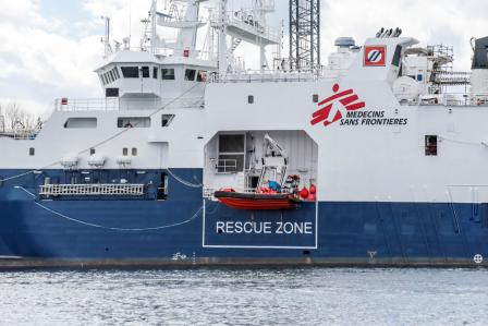 Central Mediterranean: Doctors Without Borders, saving lives at sea for the seventh consecutive year