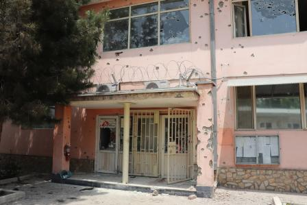 One year after the attack on Dasht-e-Barchi maternity