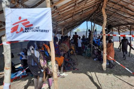 MSF addresses health needs of people in remote Maruwa, South Sudan
