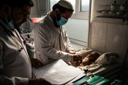 Delivering essential medical services in Afghanistan