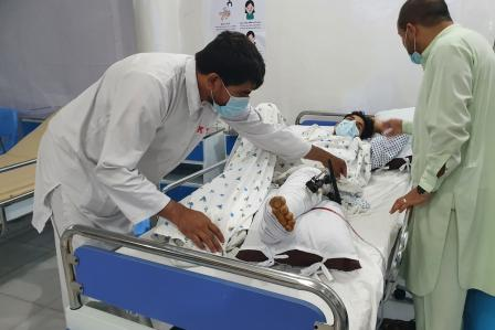 Afghanistan: Injuries and displacement soar as violence spreads around the country