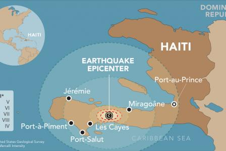 Haiti: initial evaluations and first interventions after the earthquake