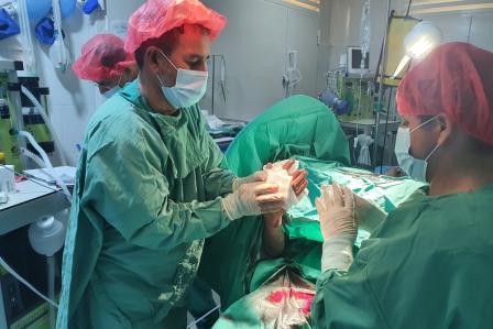 Medical care in Kunduz, Afghanistan: Making it work