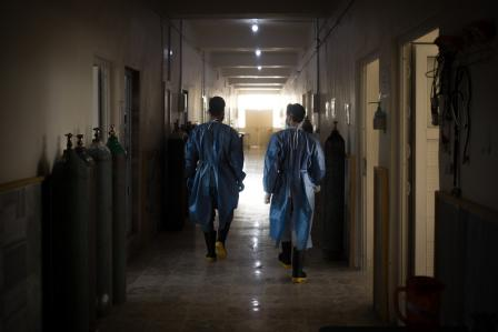 Northern Syria: Health system overwhelmed in most severe COVID-19 outbreak yet
