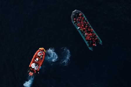 Central Mediterranean: almost 400 people rescued in less than two days